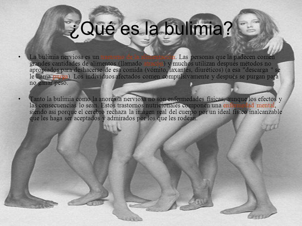 ¿Qué es la bulimia