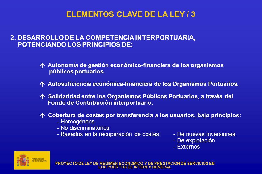 ELEMENTOS CLAVE DE LA LEY / 3