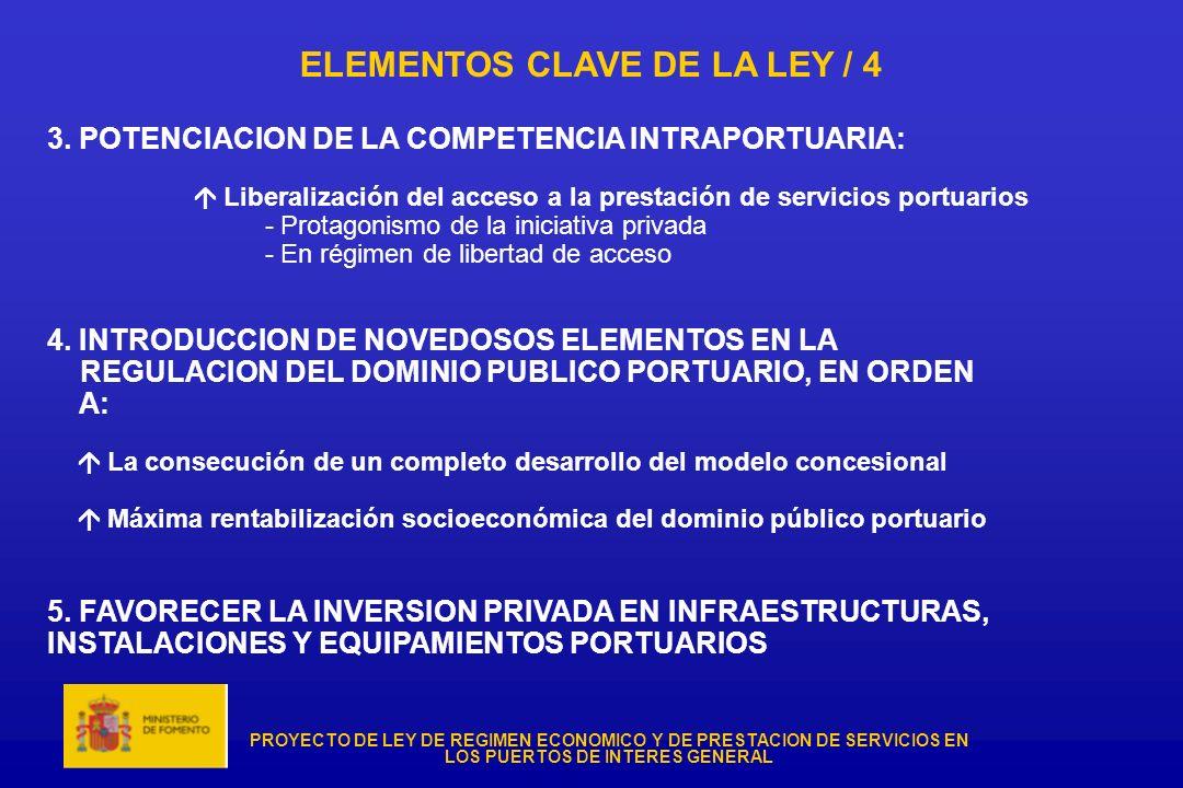 ELEMENTOS CLAVE DE LA LEY / 4