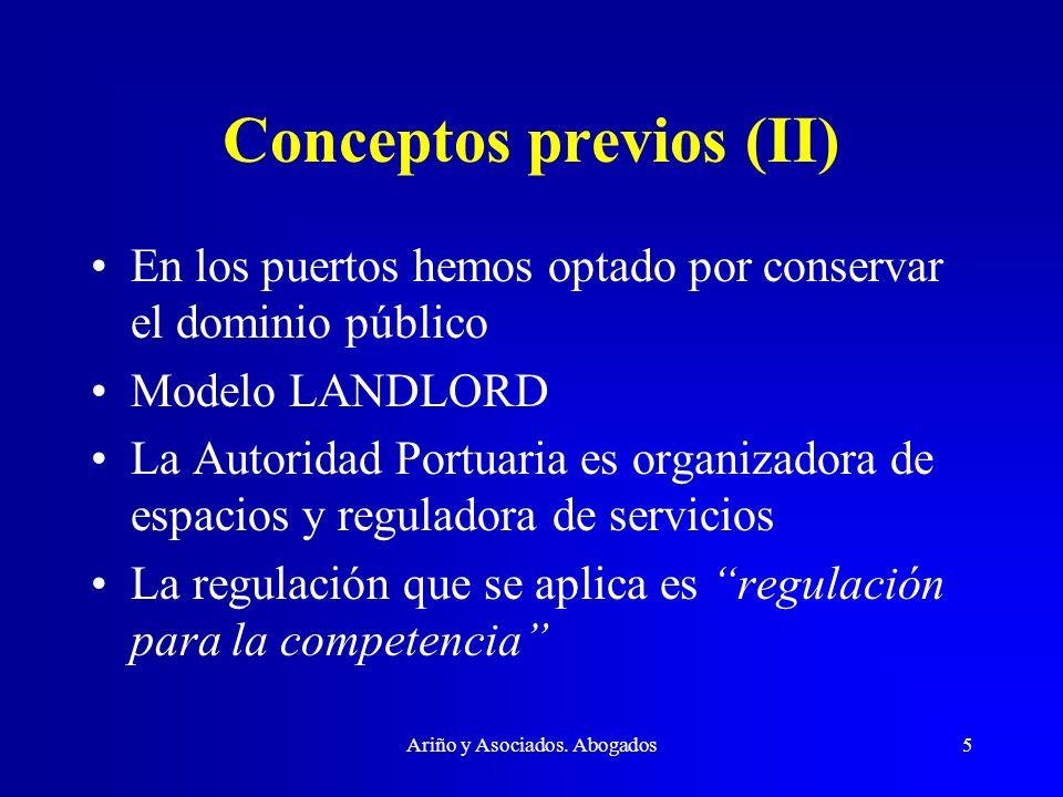Conceptos previos (II)