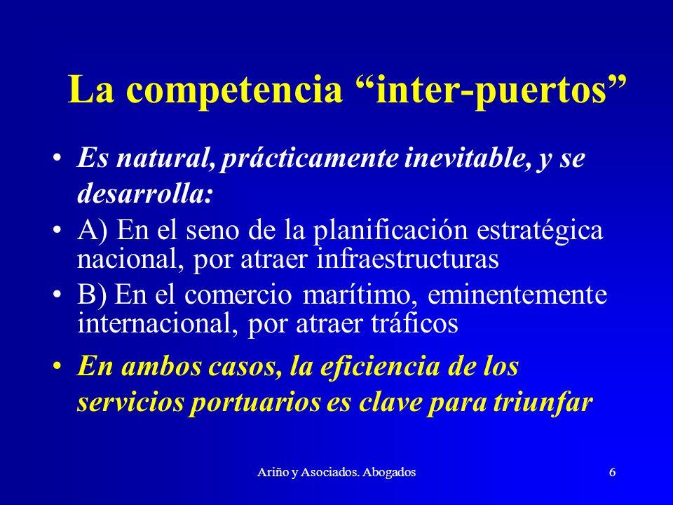 La competencia inter-puertos