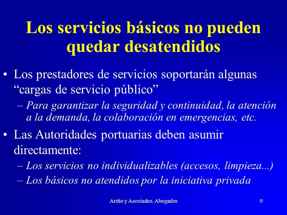 Los servicios básicos no pueden quedar desatendidos