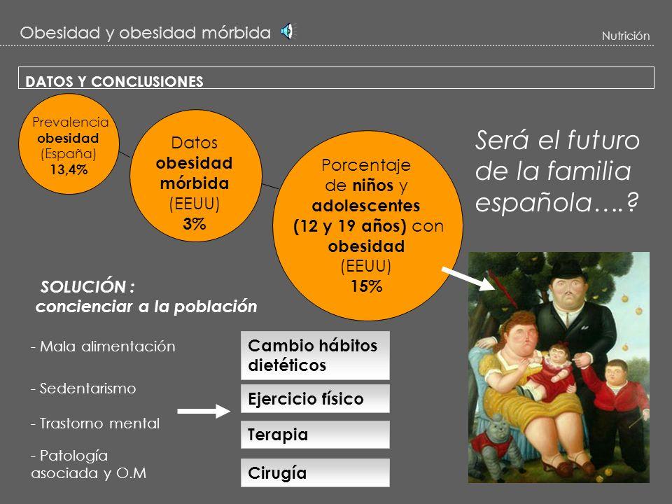 Será el futuro de la familia española….