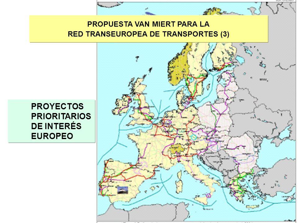 PROPUESTA VAN MIERT PARA LA RED TRANSEUROPEA DE TRANSPORTES (3)