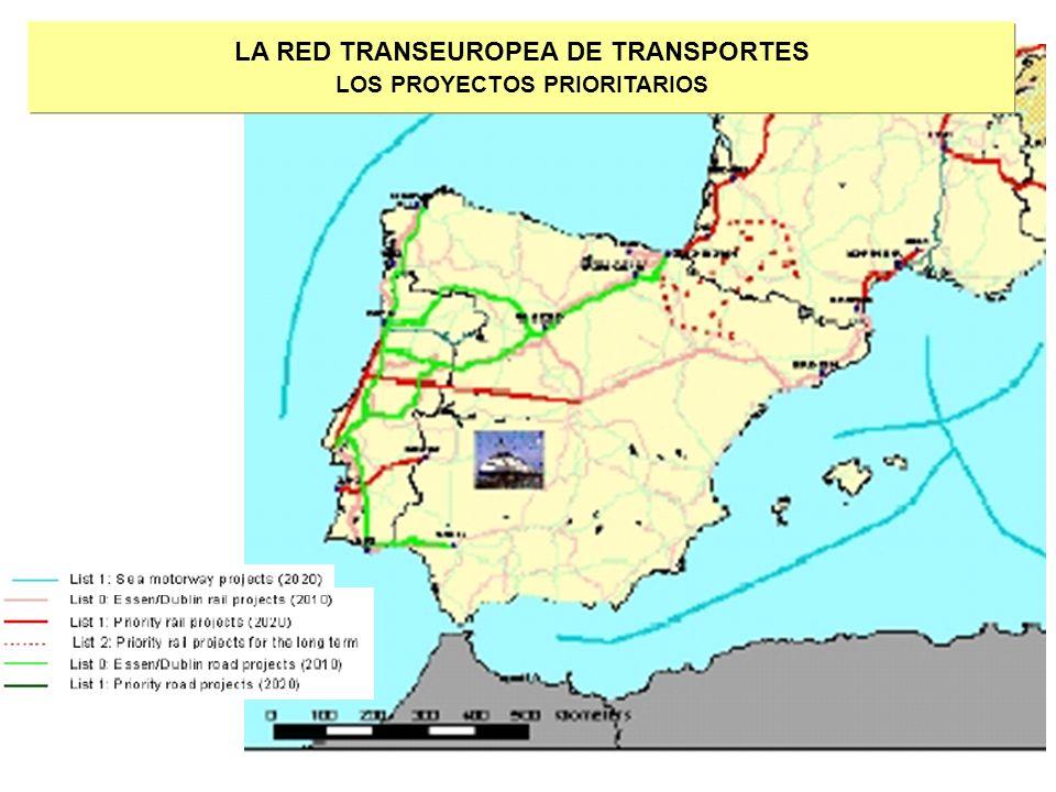 LA RED TRANSEUROPEA DE TRANSPORTES LOS PROYECTOS PRIORITARIOS