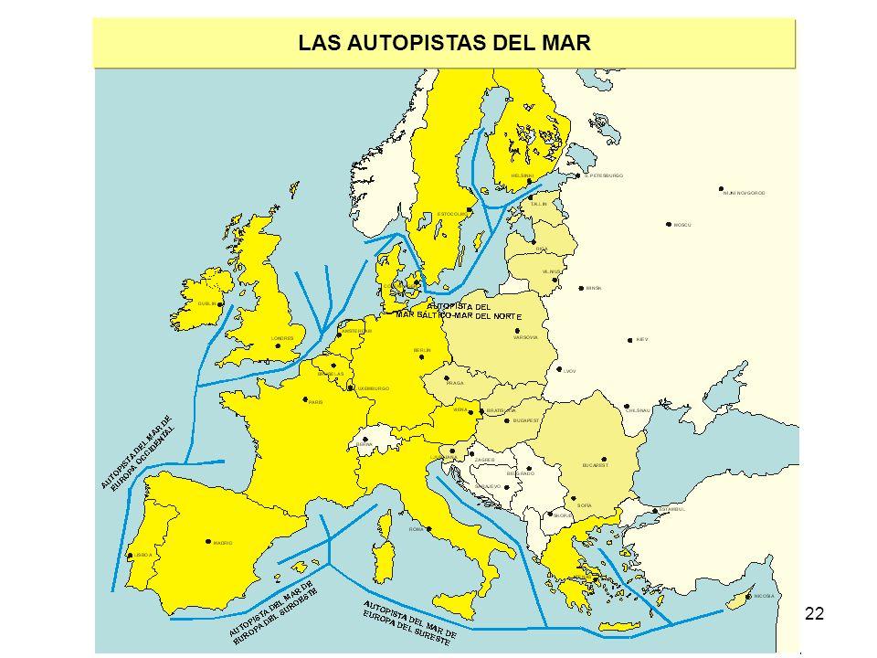 LAS AUTOPISTAS DEL MAR
