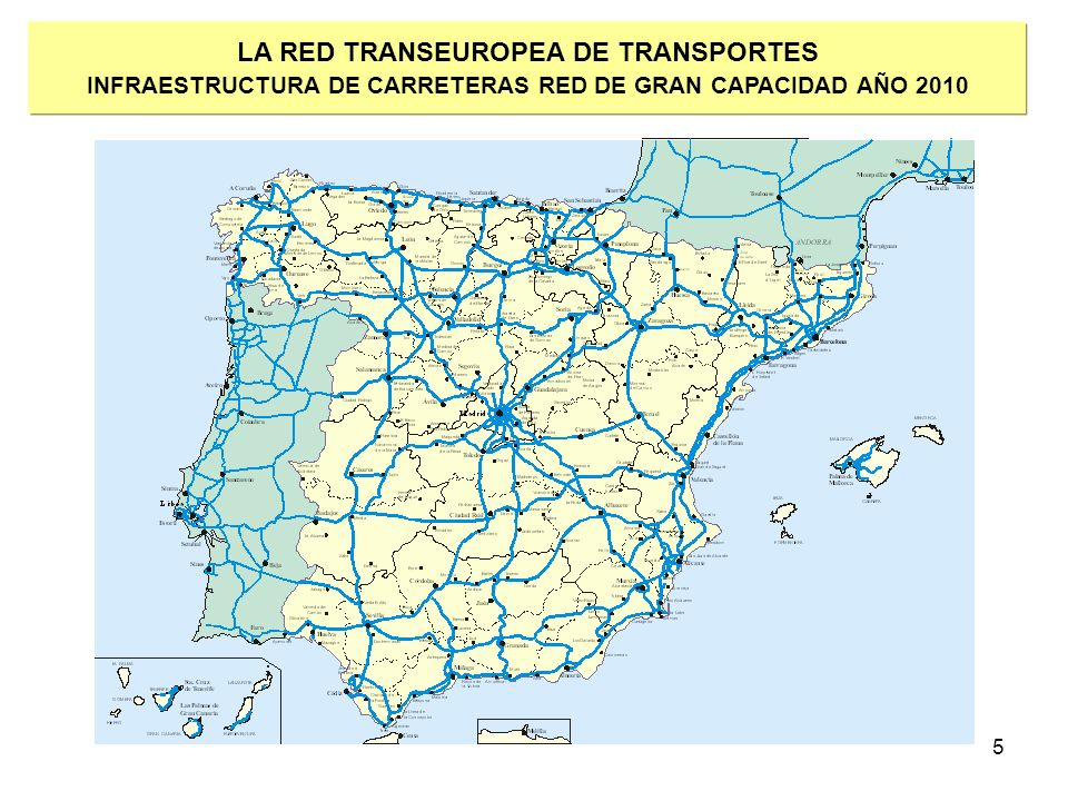 LA RED TRANSEUROPEA DE TRANSPORTES