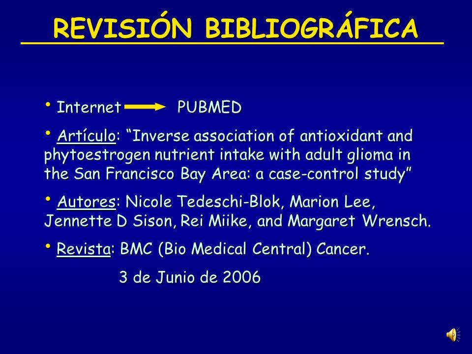 REVISIÓN BIBLIOGRÁFICA