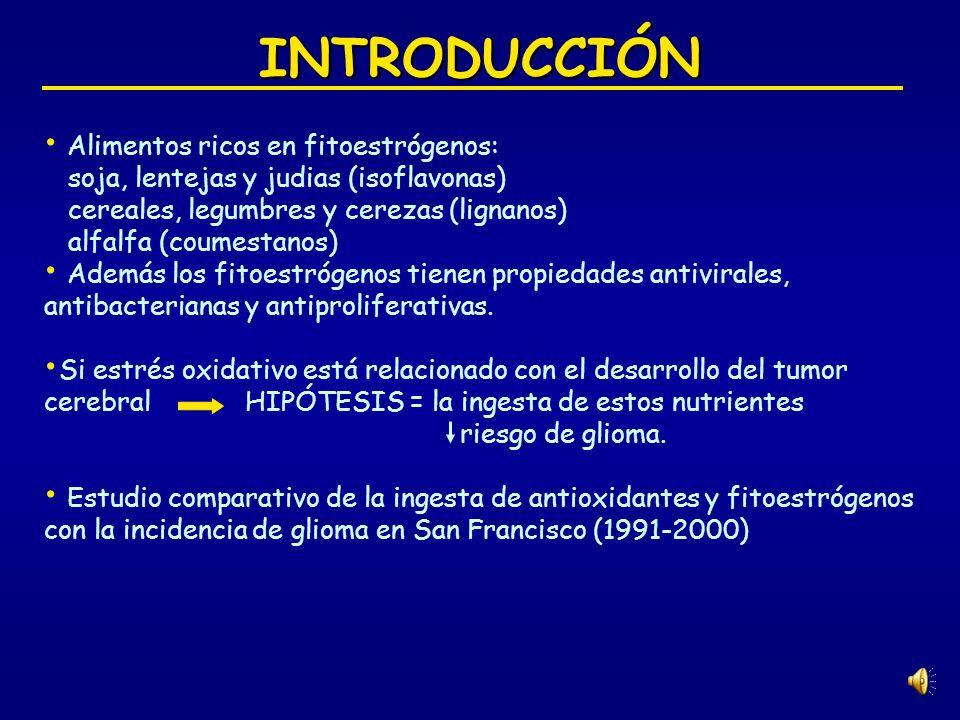INTRODUCCIÓN Alimentos ricos en fitoestrógenos: