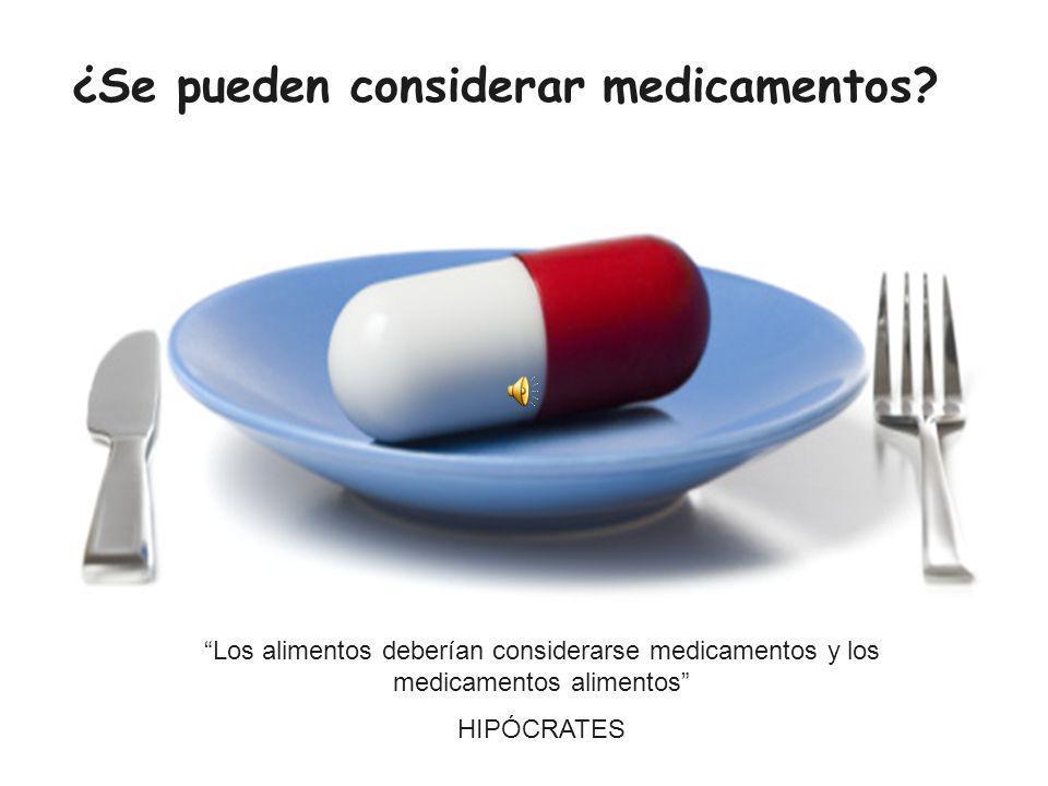 ¿Se pueden considerar medicamentos