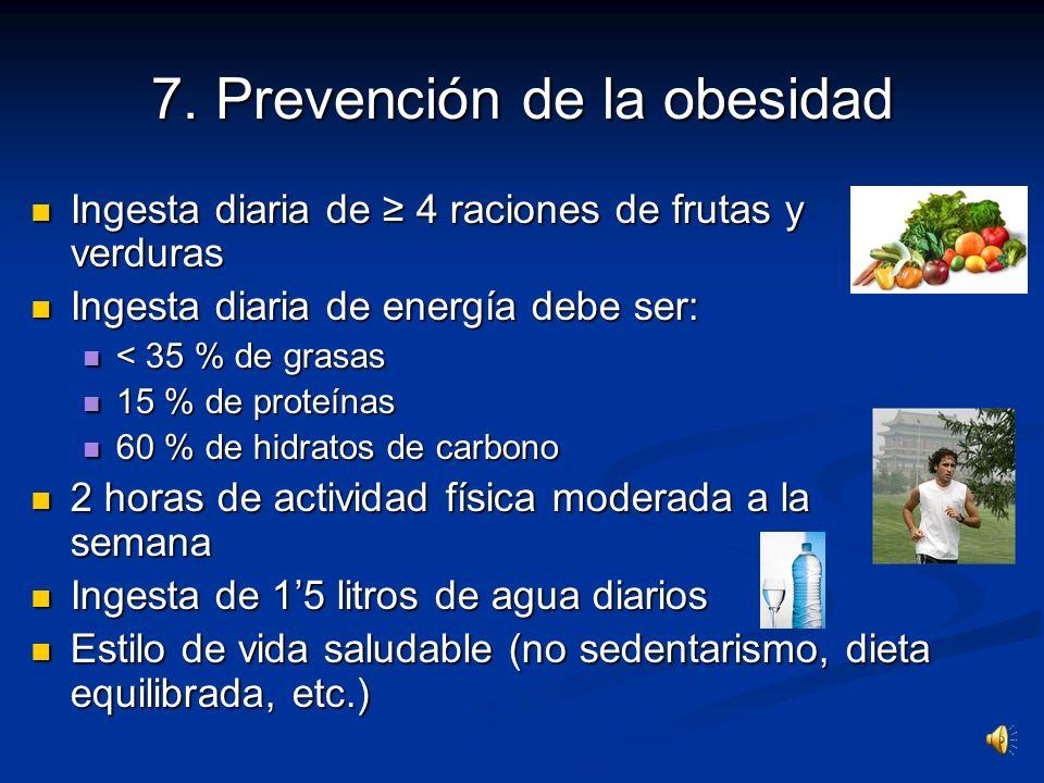 7. Prevención de la obesidad