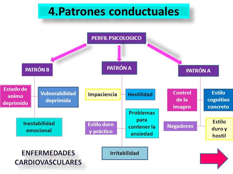 4.Patrones conductuales