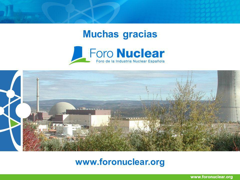 Muchas gracias www.foronuclear.org www.foronuclear.org 42