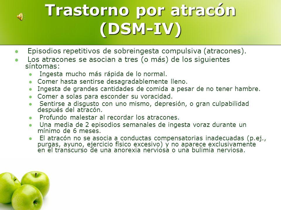 Trastorno por atracón (DSM-IV)