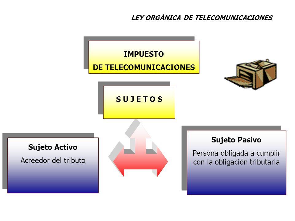 DE TELECOMUNICACIONES