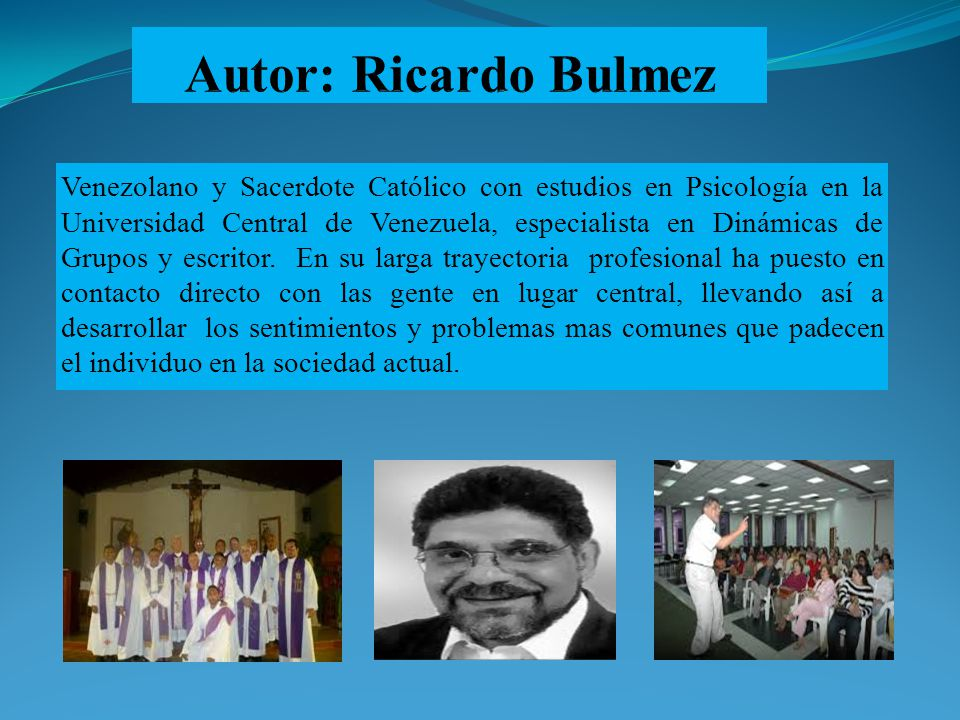 Autor: Ricardo Bulmez
