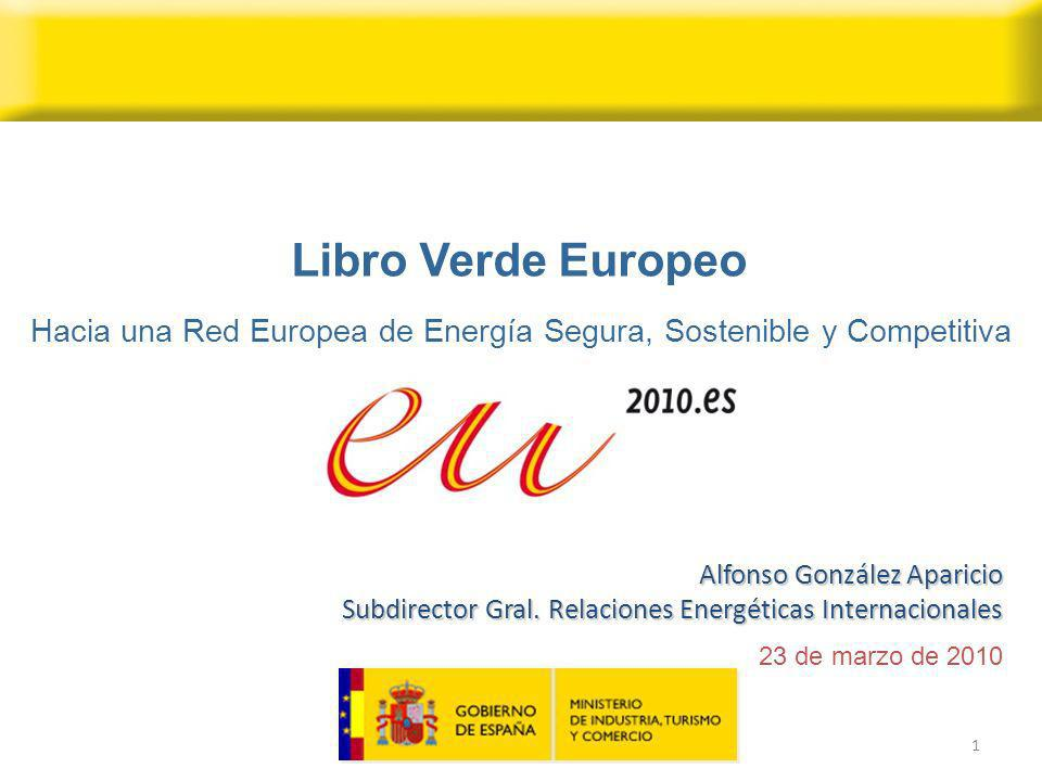 Hacia una Red Europea de Energía Segura, Sostenible y Competitiva