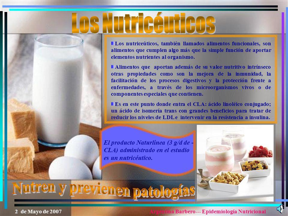 Los Nutricéuticos Nutren y previenen patologías