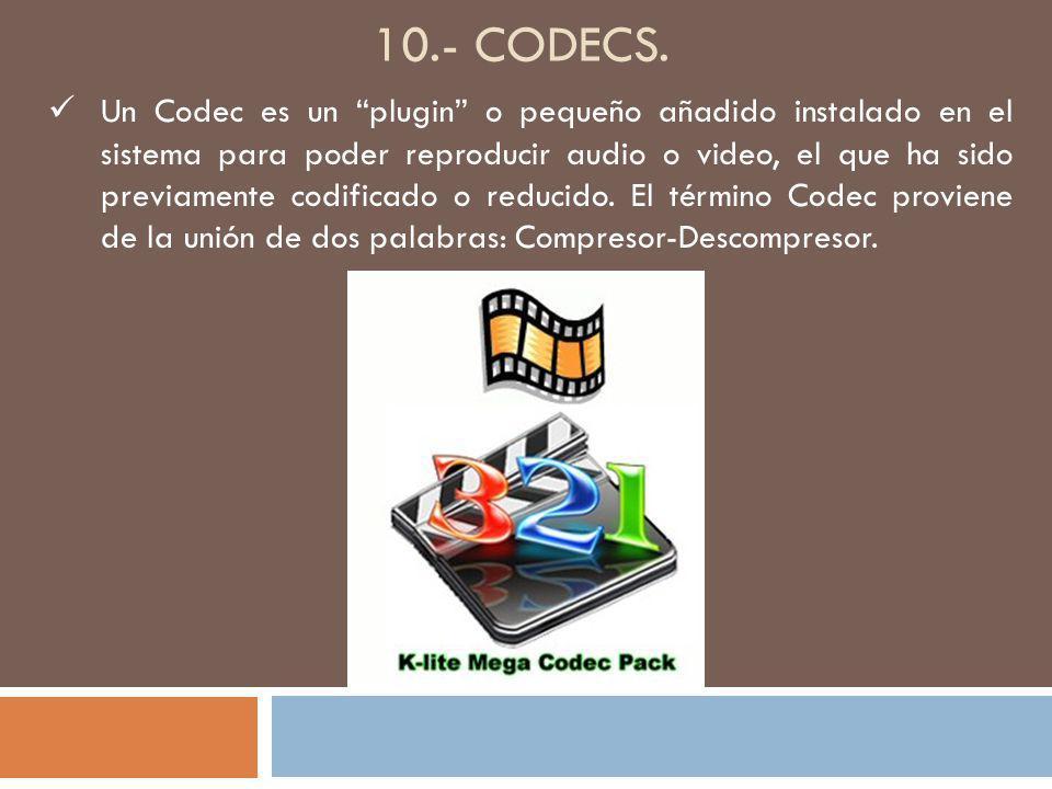 10.- CODECS.