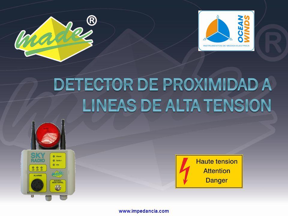 DETECTOR DE PROXIMIDAD A LINEAS DE ALTA TENSION