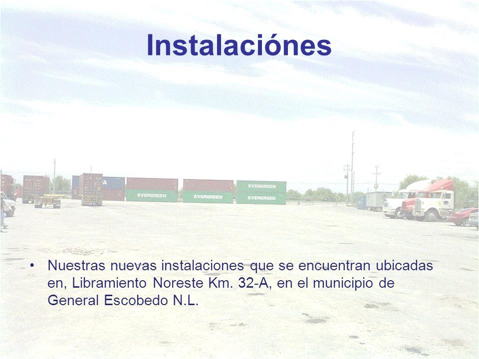 Instalaciónes Nuestras nuevas instalaciones que se encuentran ubicadas en, Libramiento Noreste Km.