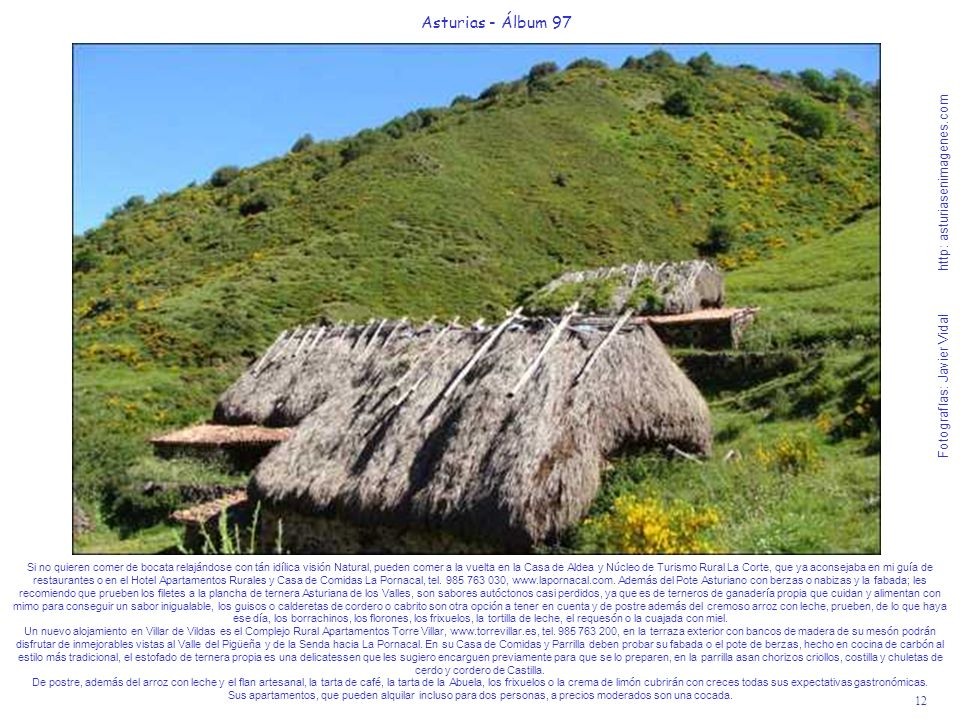 Asturias - Álbum 97Fotografías: Javier Vidal http: asturiasenimagenes.com.