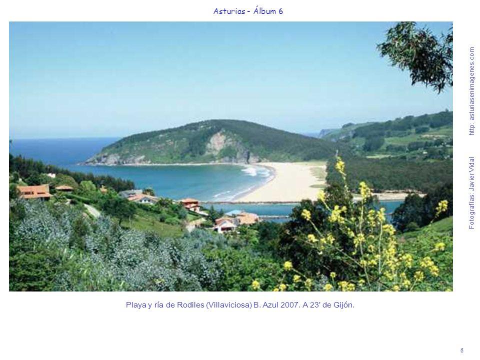 Playa y ría de Rodiles (Villaviciosa) B. Azul 2007. A 23 de Gijón.