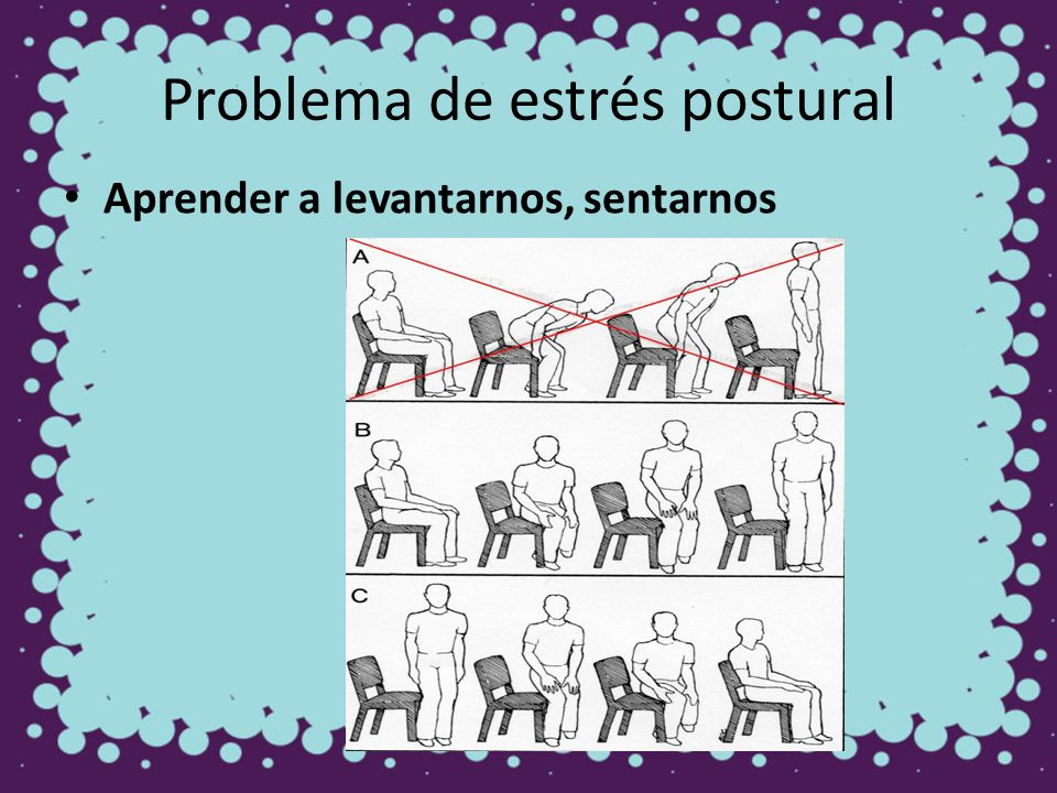 Problema de estrés postural