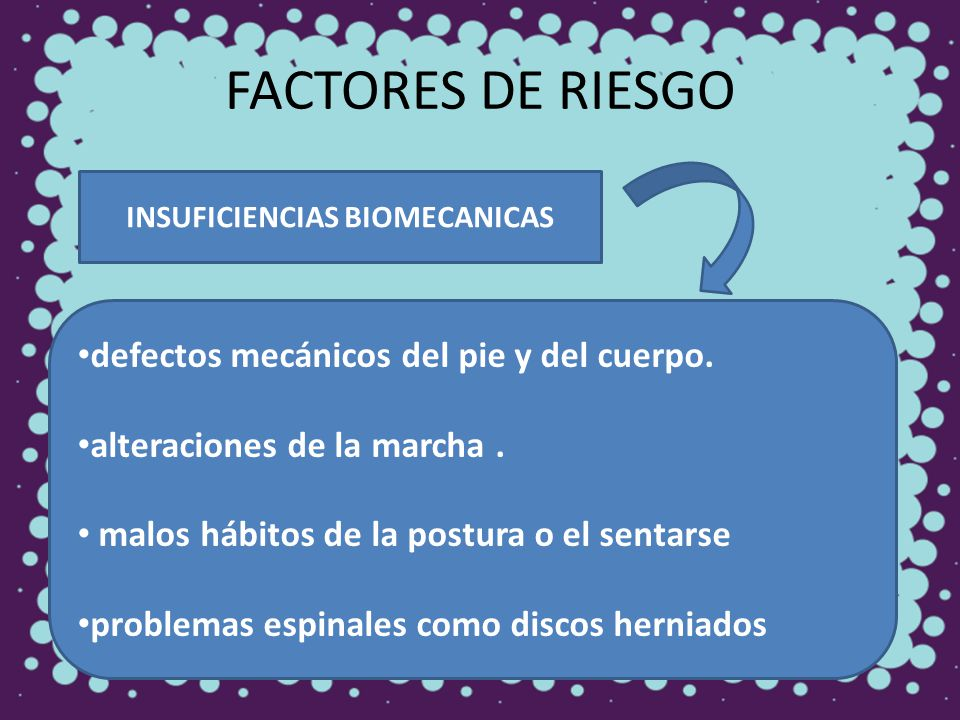 INSUFICIENCIAS BIOMECANICAS