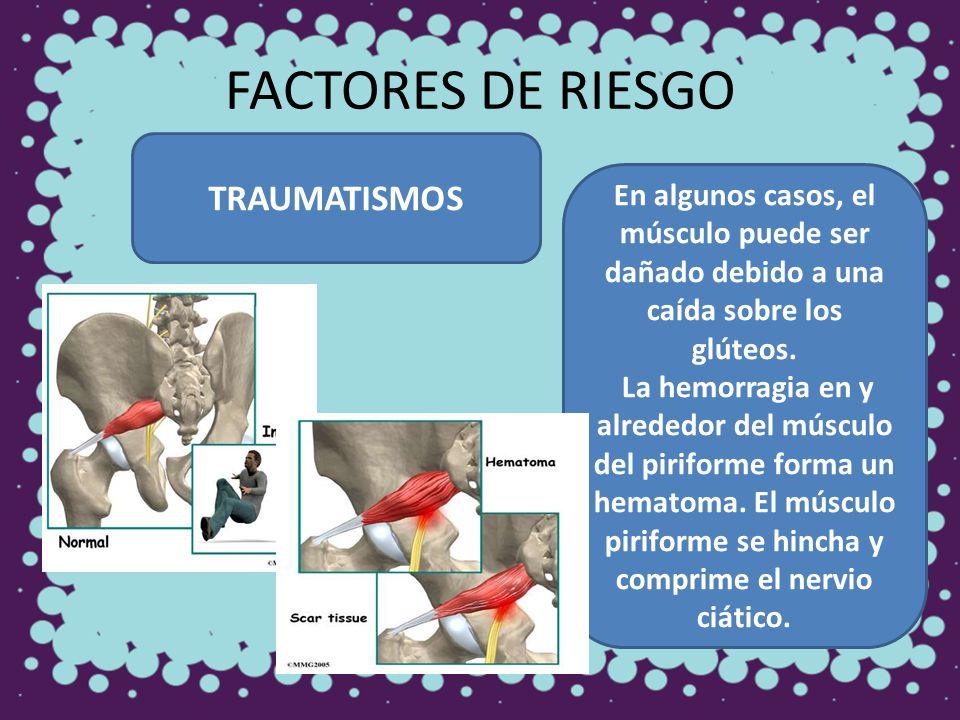 FACTORES DE RIESGO TRAUMATISMOS