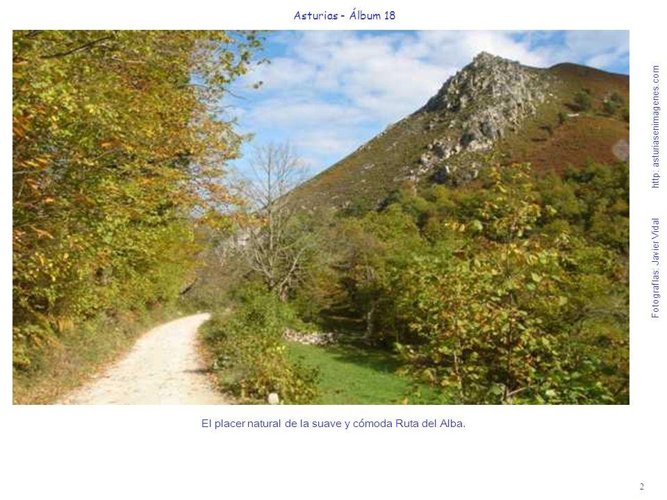 El placer natural de la suave y cómoda Ruta del Alba.