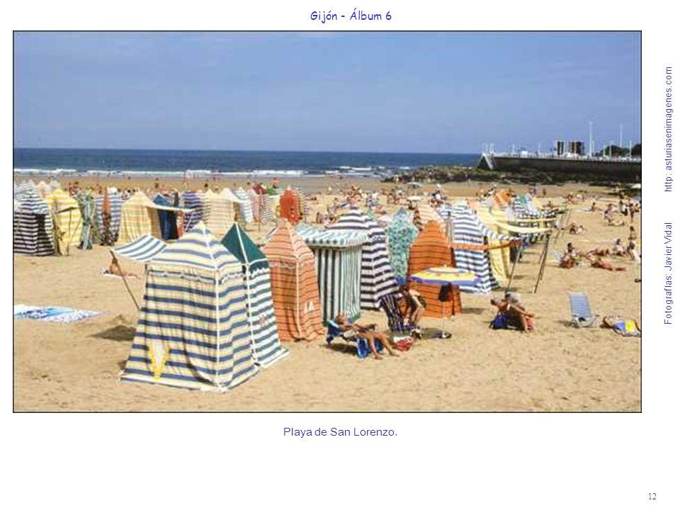Playa de San Lorenzo. Gijón - Álbum 6