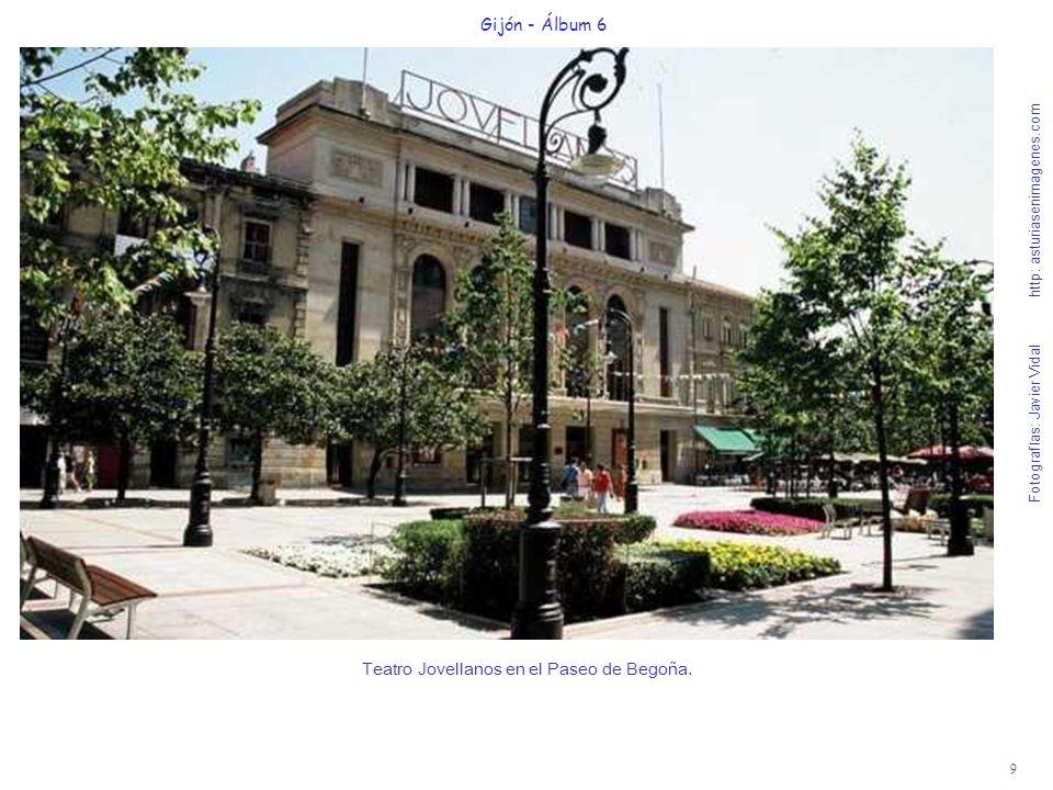 Teatro Jovellanos en el Paseo de Begoña.
