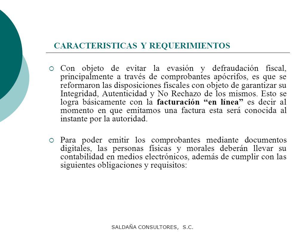 CARACTERISTICAS Y REQUERIMIENTOS