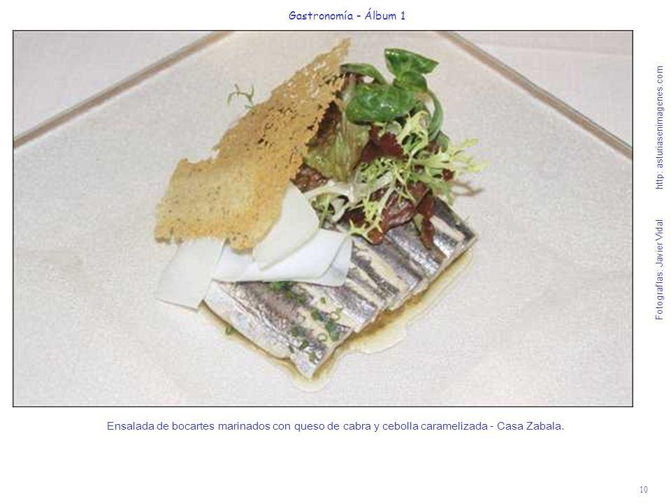 Gastronomía - Álbum 1
