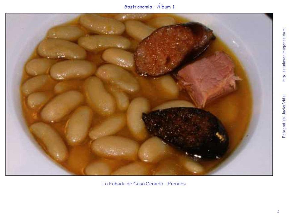 La Fabada de Casa Gerardo - Prendes.