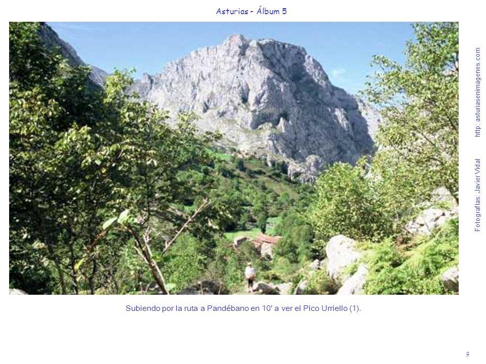 Subiendo por la ruta a Pandébano en 10 a ver el Pico Urriello (1).