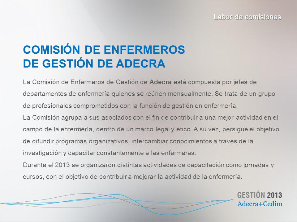 COMISIÓN DE ENFERMEROS DE GESTIÓN DE ADECRA