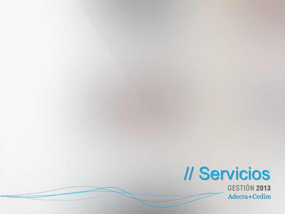 // Servicios