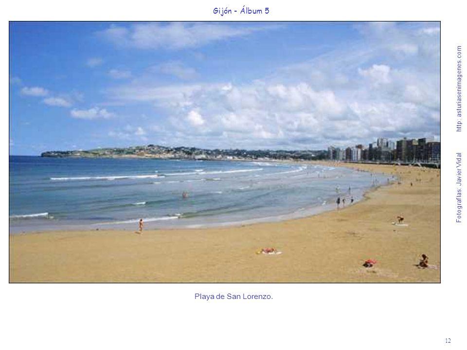 Playa de San Lorenzo. Gijón - Álbum 5