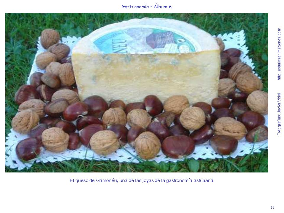 El queso de Gamonéu, una de las joyas de la gastronomía asturiana.
