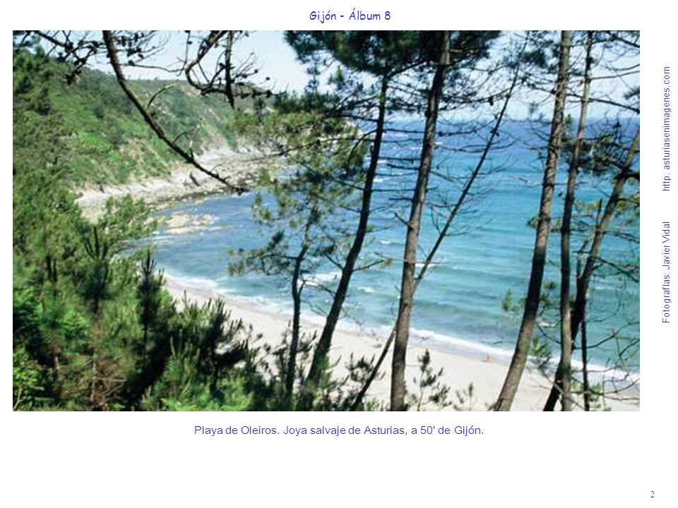 Playa de Oleiros. Joya salvaje de Asturias, a 50 de Gijón.
