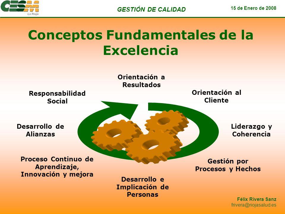 Conceptos Fundamentales de la Excelencia