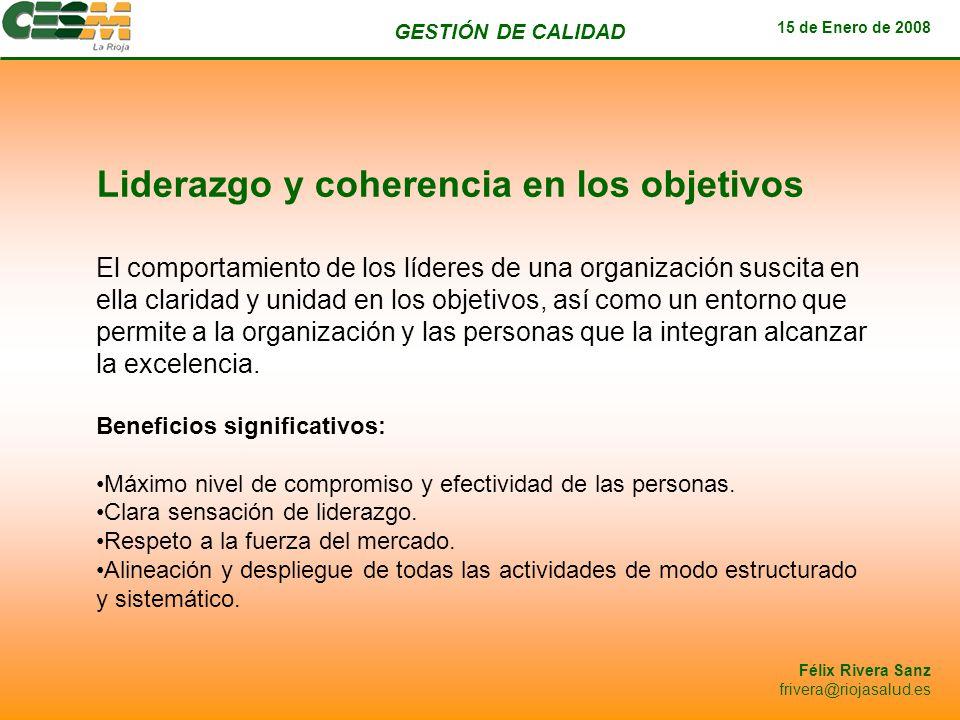 Liderazgo y coherencia en los objetivos