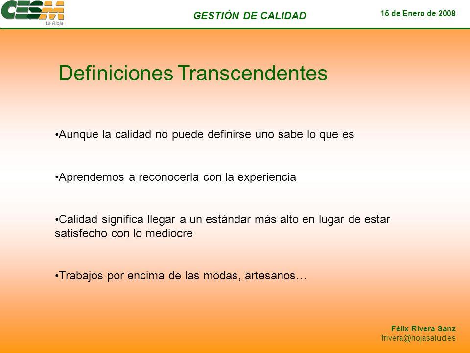 Definiciones Transcendentes