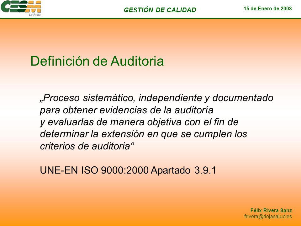 Definición de Auditoria