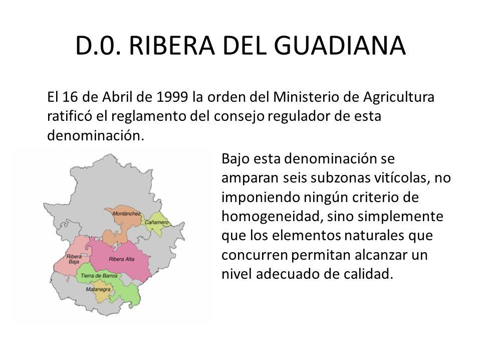 D.0. RIBERA DEL GUADIANA