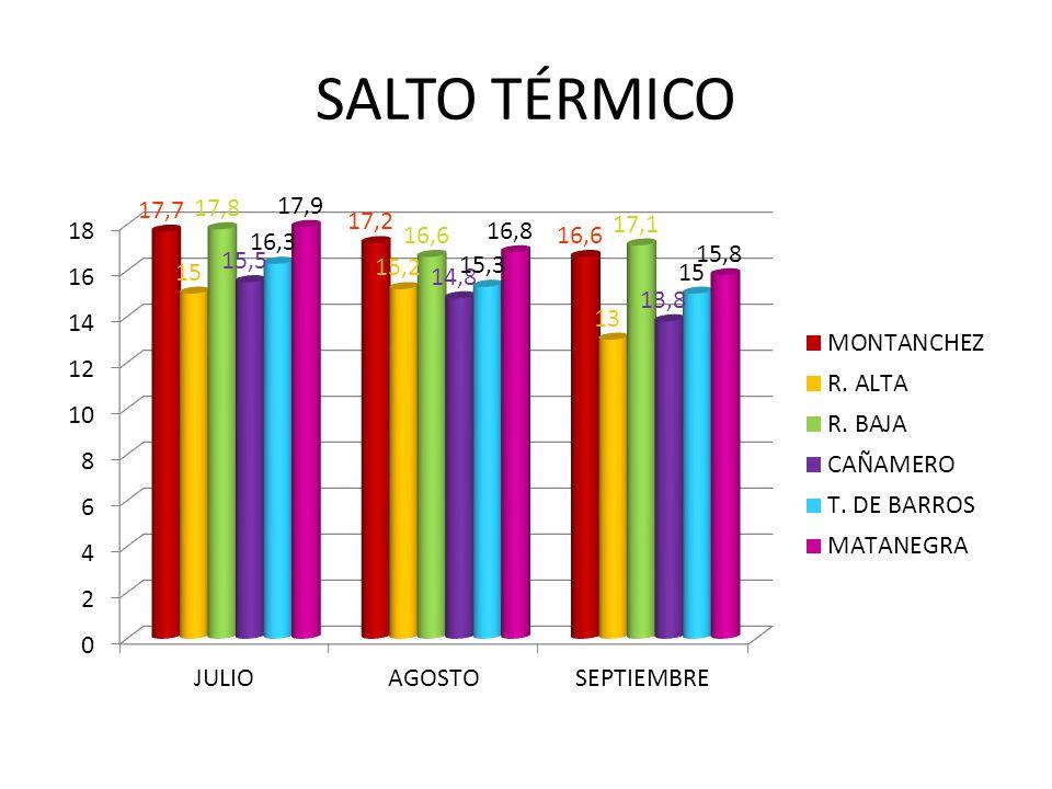 SALTO TÉRMICO