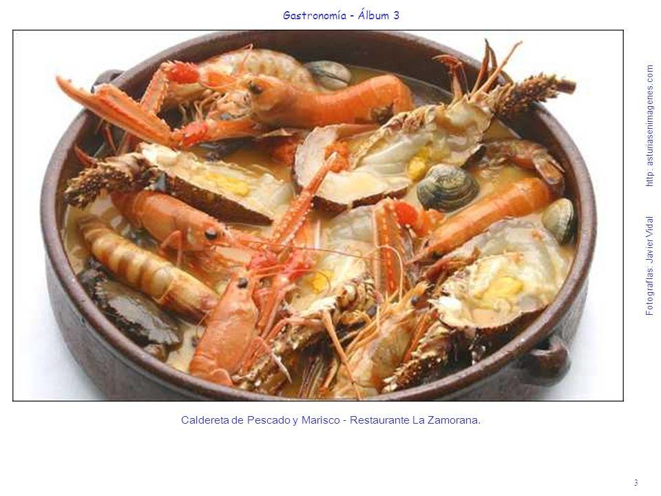 Caldereta de Pescado y Marisco - Restaurante La Zamorana.