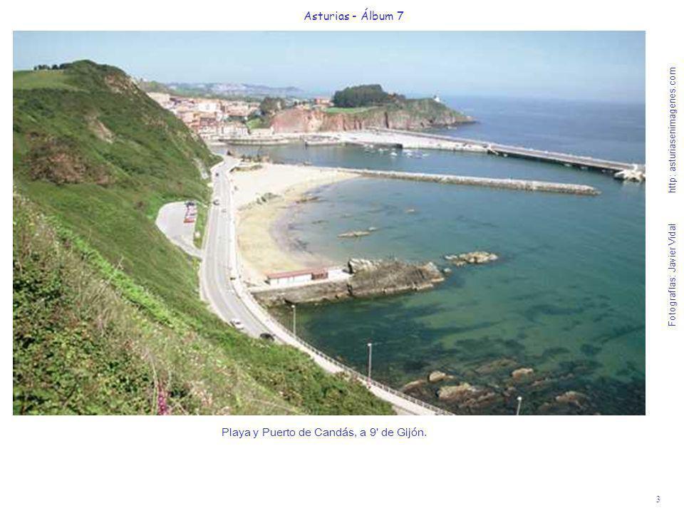 Playa y Puerto de Candás, a 9 de Gijón.